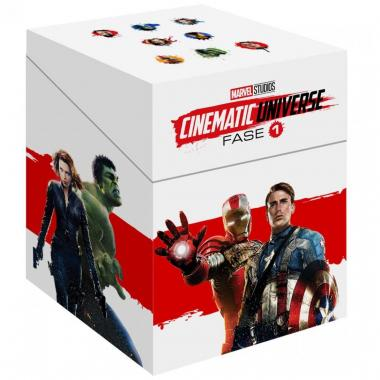 Blu Ray Paquete Especial Universo Marvel Fase 1