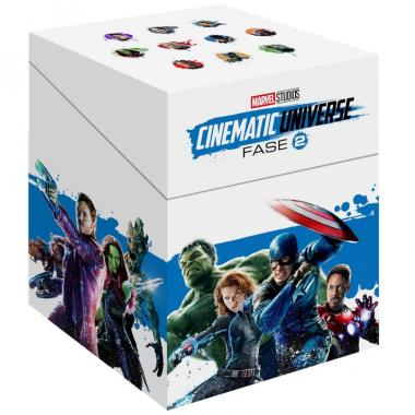 Blu Ray Paquete Especial Universo Marvel Fase 2