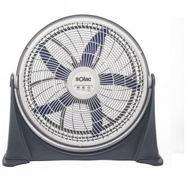 Ventilador De Piso 20 Con Cr Y Velocidad Variable