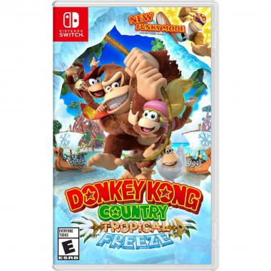 Nintendo Switch Donkey Kong Country Tropical Freeze