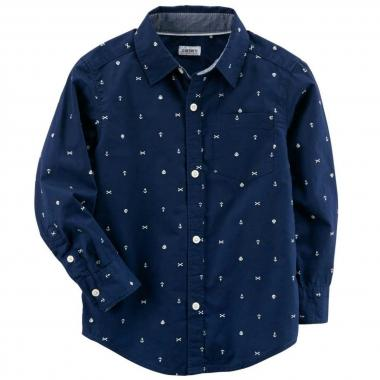 Camisa estampada Carters