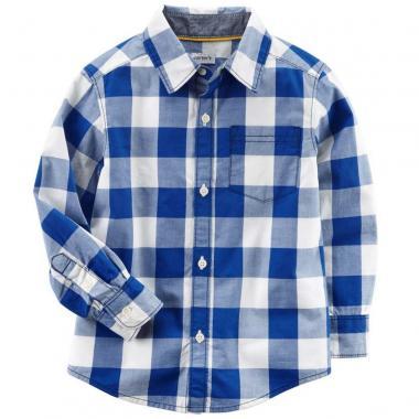 Camisa cuadros Carters