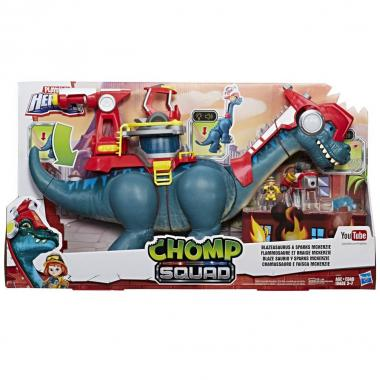 Playskool Blazeasaurus Y Sparks Mckenzie Chomp Squad Hasbro