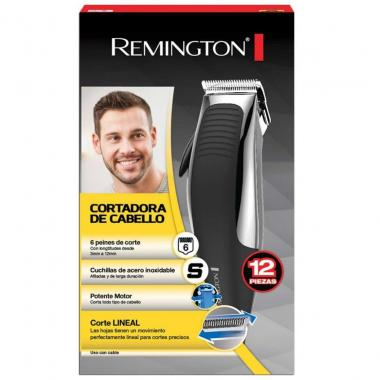 Cortadora De Cabello Cromada Remington