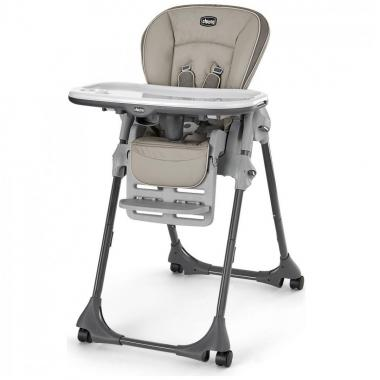 Silla Polly Single Pad Highchair Papyrus Chicco