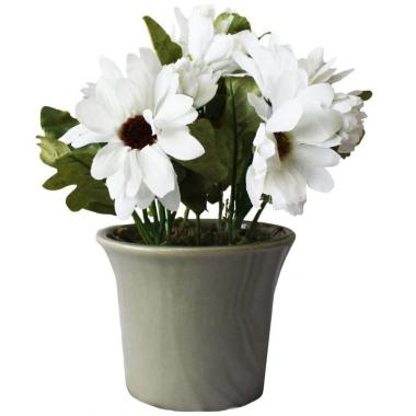 Arreglo De Crisantemo Blanco En Campana Taipei