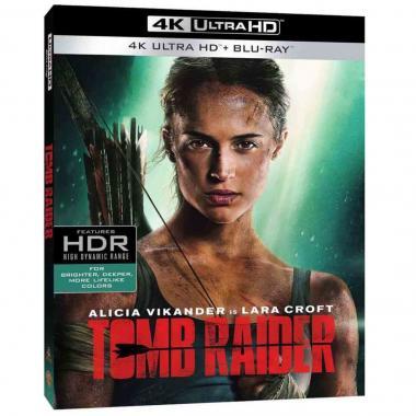 Blu Ray 4k Tomb Raider Las Aventuras De Lara Croft