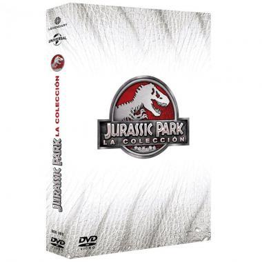 Dvd Boxset Parque Jurásico Tetralogia