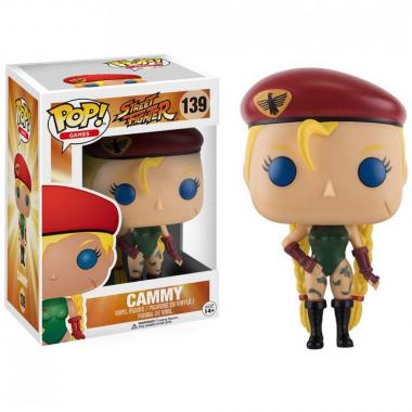 Street Fighter Cammy Funko