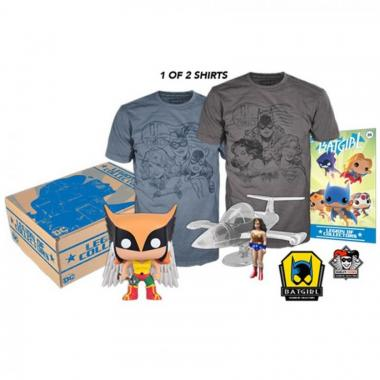 Ladies Of Dc Kit Box Collector Funko - Playera Grande