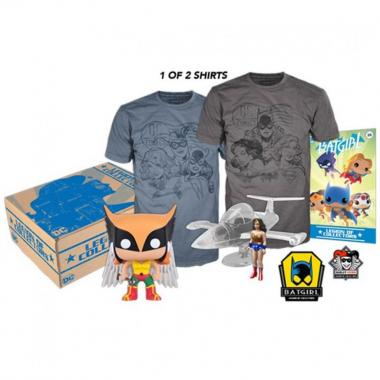 Ladies Of Dc Kit Box Collector Funko - Playera Mediana
