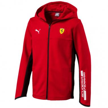Chamarra kids hooded sweat Ferrari Puma