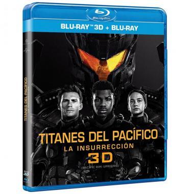 Blu Ray 3d Titanes Del Pacífico La Insurrección