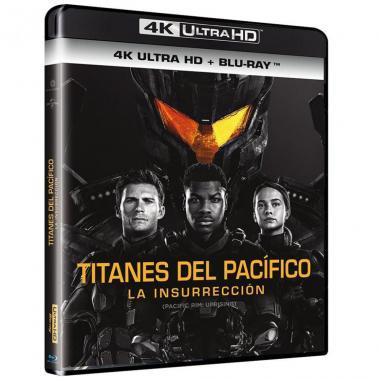 Blu Ray + Blu Ray 4kuhd Titanes Del Pacífico La Insurrección