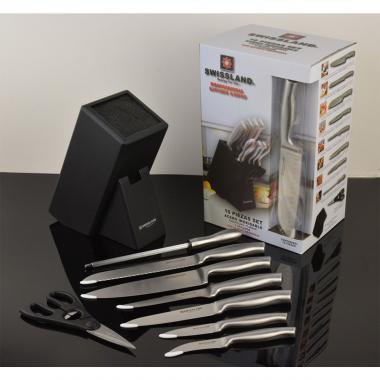Block 10 Cuchillos A Inoxidable Swl0205Ss Swissland