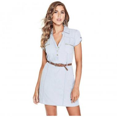 Vestido Camisero G By Guess