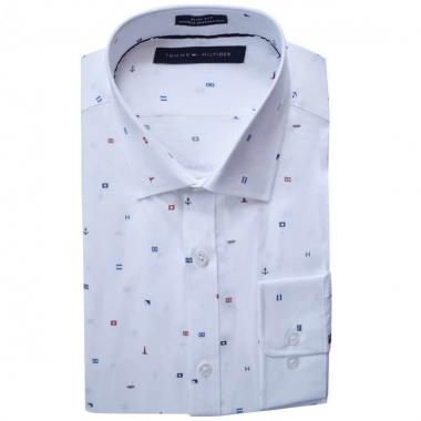 Camisa De Vestir Slim Tommy Hilfiger