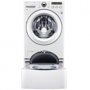 Lavasecadora Lg Doble Carga Twinwash 18+3.5 Kg Blanca Wd18Wn6