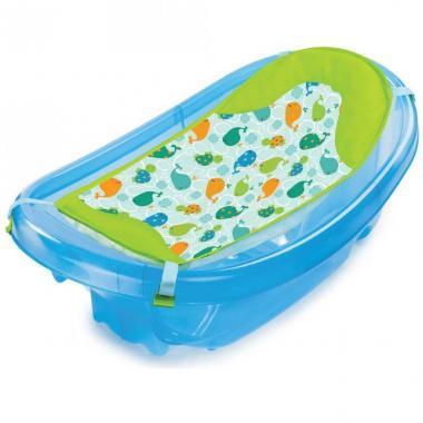 Bañera con Hamaca Sparkle And Splash Blue Summer Infanti