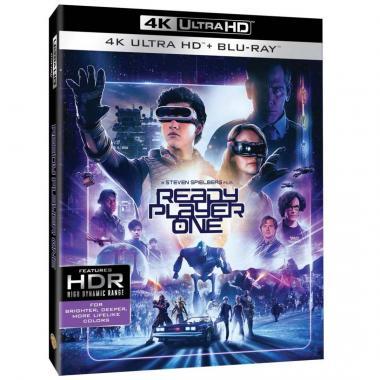 Blu Ray 4K Uhd Ready Player One Comienza El Juego