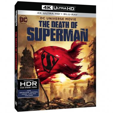 Blu Ray 4k La Muerte De Superman