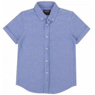 Camisa Piqué Estampada Jeanious Boys