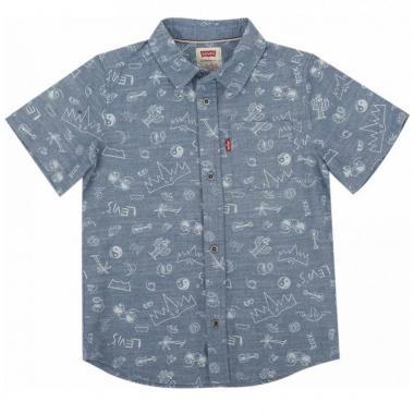 Camisa The Smith Short Sleeve Shirt Levi's Boys