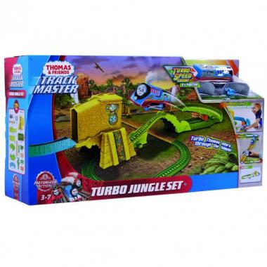 Thomas & Friends Trackmaster Turbo Escape En La Jungla Mattel