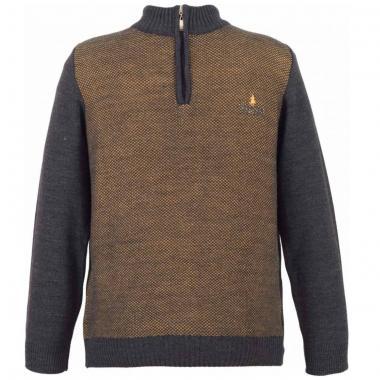 Suéter Cerrado Medio Cierre Polo Club