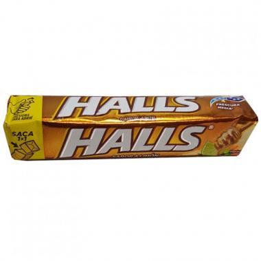 Pastillas Halls Lemon Adams