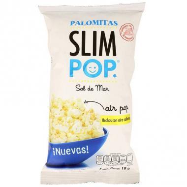 Palomitas Slim Pop Sal De Mar