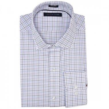 Camisa microcuadros Tommy Hilfiger