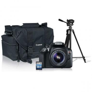 Kit Cámara Canon T6 con Tripié  y SD 16 GB