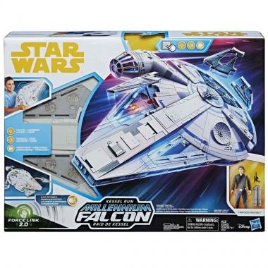 Star Wars Millenium Falcon Force Link Hasbro