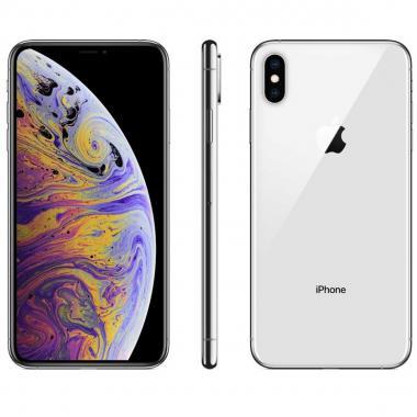 iPhone XS Max 64Gb Color Plata R9 (Telcel)