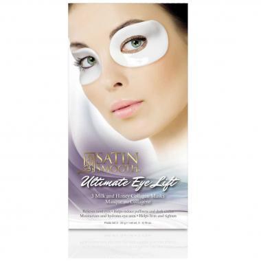 Mascara Para Ojos Colágeno 3pza Satín Smooth Babyliss Pro