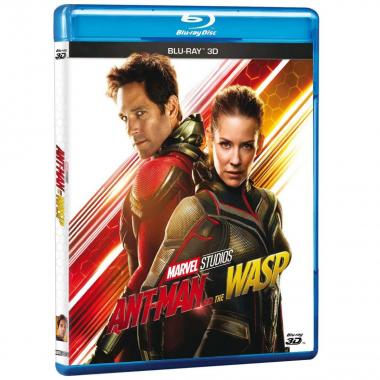 Blu Ray 3D Ant-Man & The Wasp