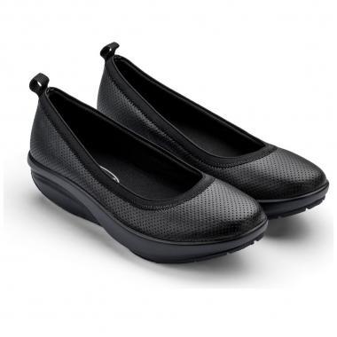 Walkmaxx Comfort Ballerinas Talla 6 Negro Inova