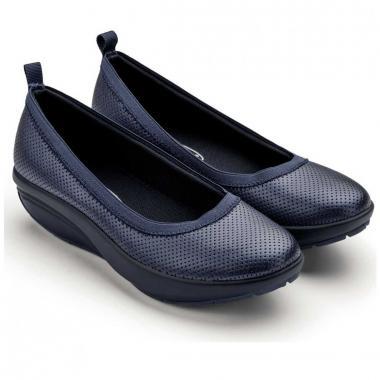 Walkmaxx Comfort Ballerinas Talla 6 Azul Inova