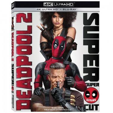 Blu Ray 4K Deadpool 2