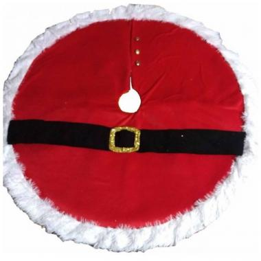 Pie De Árbol Cinturon Santa Clause Mmg