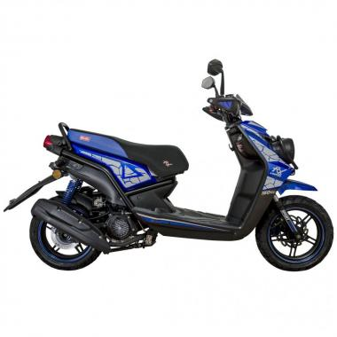 Scooter Limited Rx 150 Cc Azul Mb