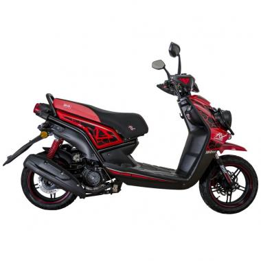 Scooter  Limited  Rx 150 Cc Roja Mb