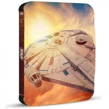 Blu Ray + Dvd Steelbook Han Solo Una Historia De Star War