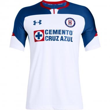 Jersey Cruz Azul Visitante / Auténtico Under Armour- Caballero