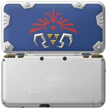 Consola Nintendo 2Ds Xl Hylian Shield