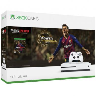 Consola Xbox One S 1Tb Pes 2019 (Pro Evolution Soccer)