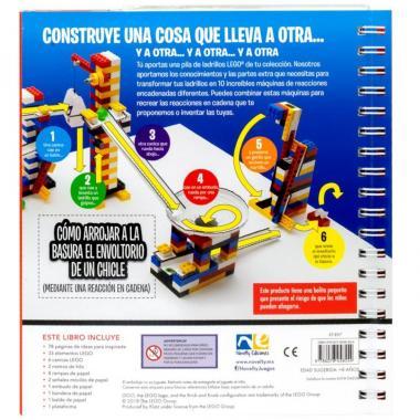 Lego Reacción En Cadena Novelty Ediciones