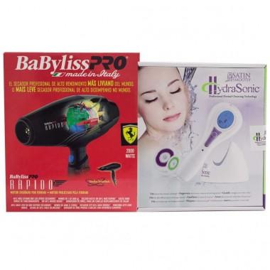 Secadora Profesional Rápido + Cepillo Facial Babyliss Pro