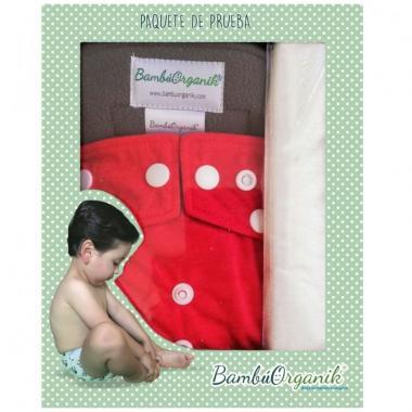 Caja Paquete de Prueba Pañal Infantil BambúOrganik